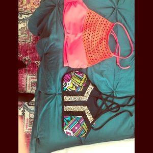 Bikini tops never worn. Perfect to mix and match.
